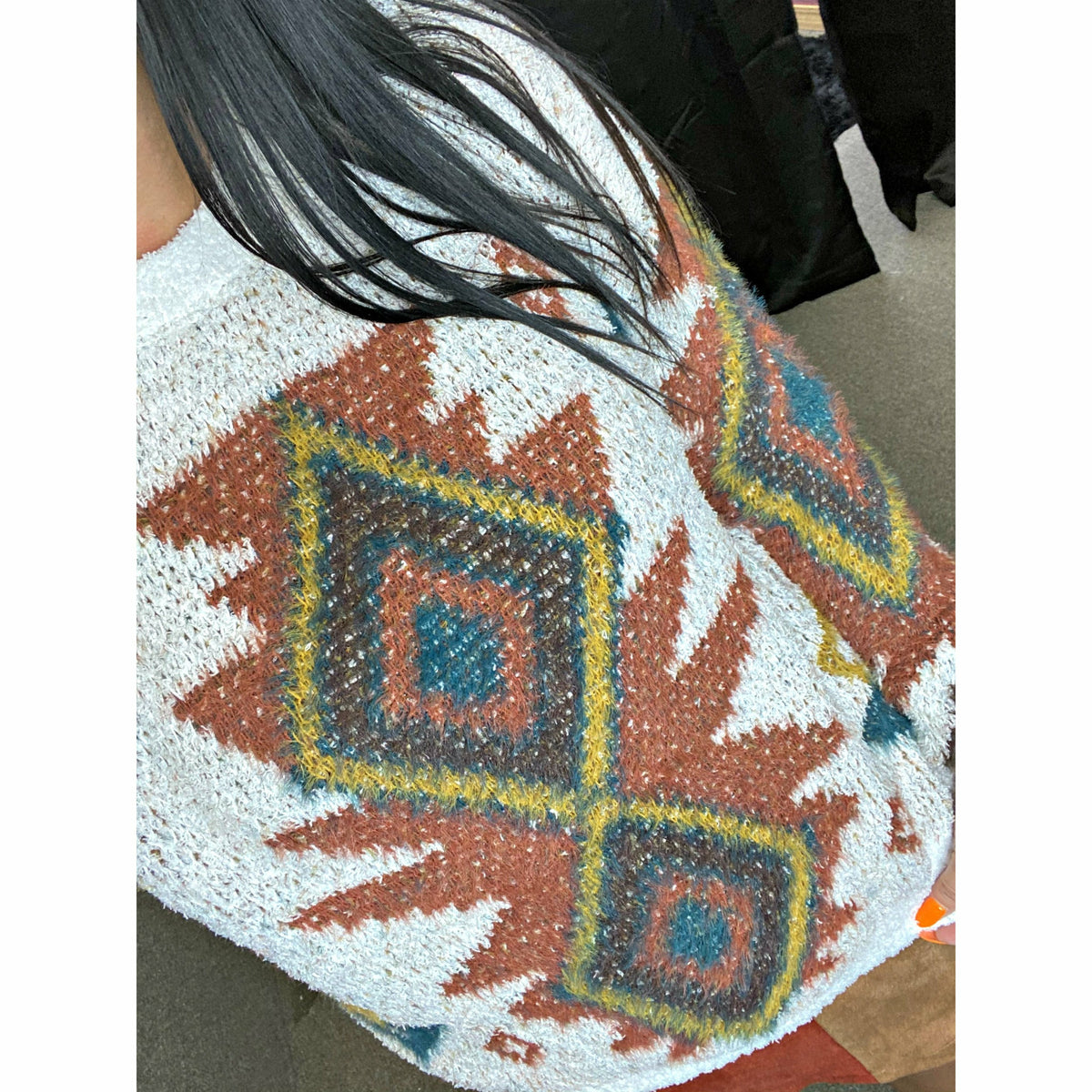 Ginny Aztec Soft Sweater