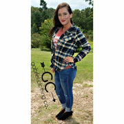 Jane Plaid Flannel - Gabriel Clothing Company