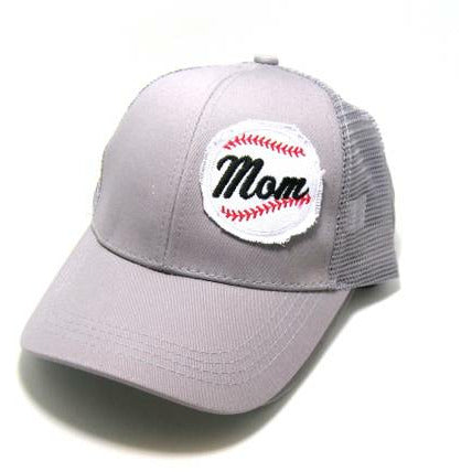 Mom Baseball (pony tail cap)