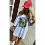 Guns n Roses graphic   T-Shirt Dress