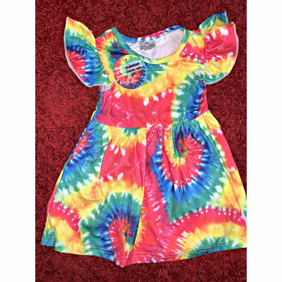 Kids Tie Dye Dress