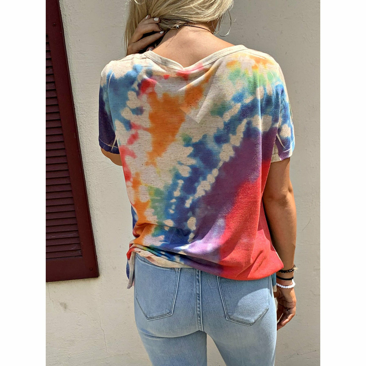 Tie Dye Laser Cut Boutique