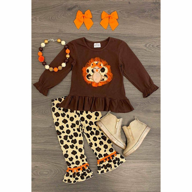 Leopard Turkey kids set