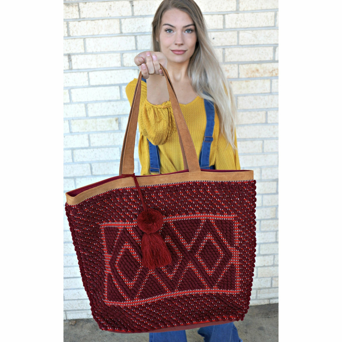 Maroon Big Bag