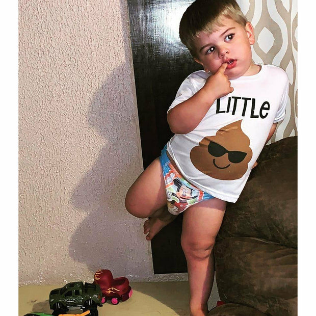Little 💩 or big 💩 POOP t-shirt