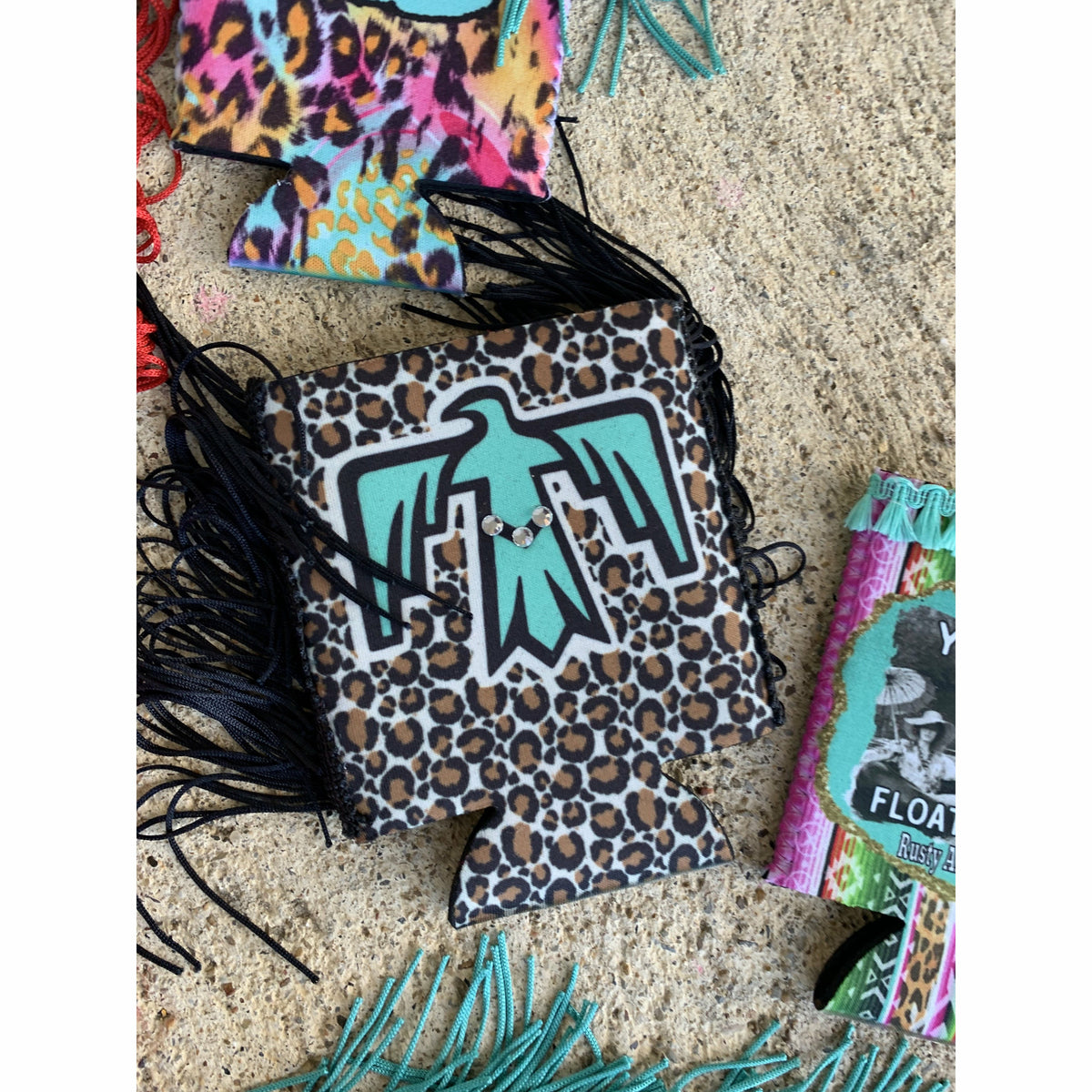 Fringe Koozies ( lots of styles)