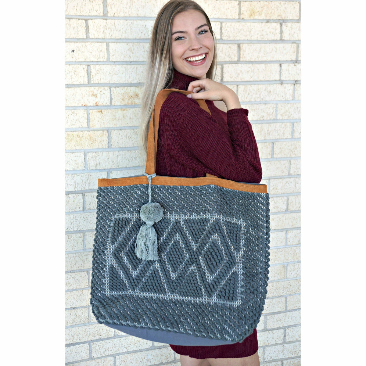 Grey Big Bag