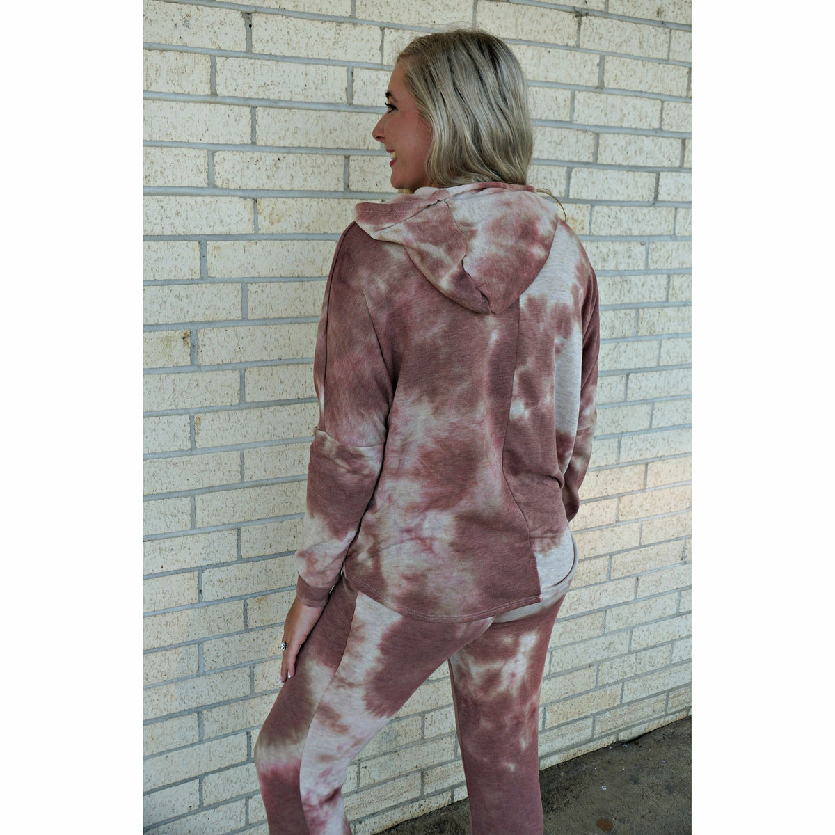 Rustic Tie Dye Matching Sweat suit