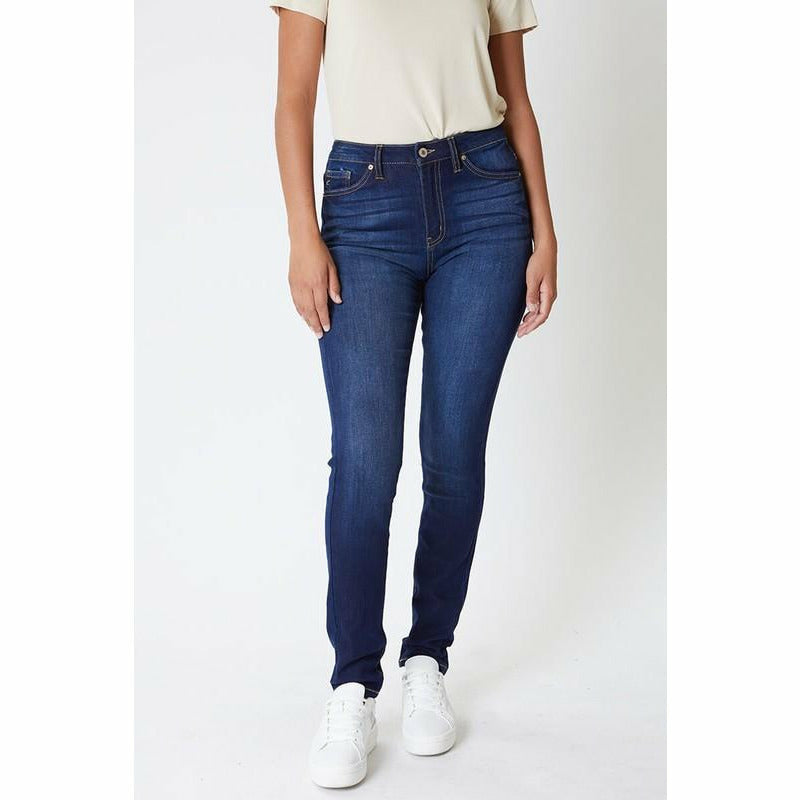 High Rise Basic Curvy Jeans
