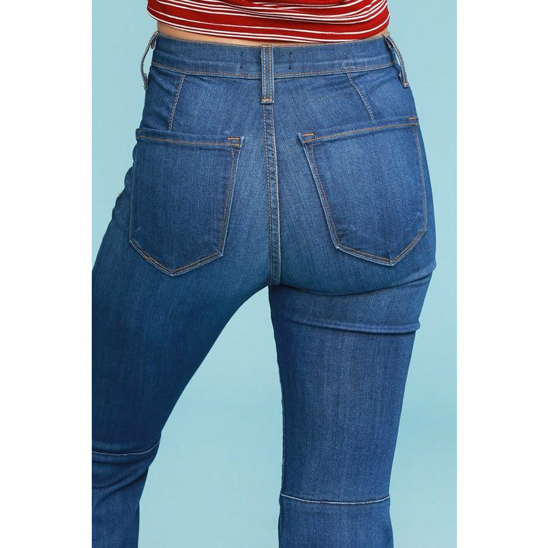 Fave Stretch Judy blue Super Flares