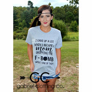 F Bomb Mom tee - Gabriel Clothing Company