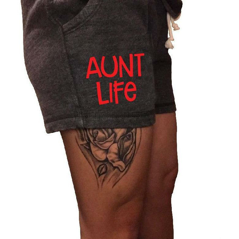 Aunt Life Shorts - Gabriel Clothing Company