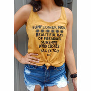 Sunflower Mom  Tank