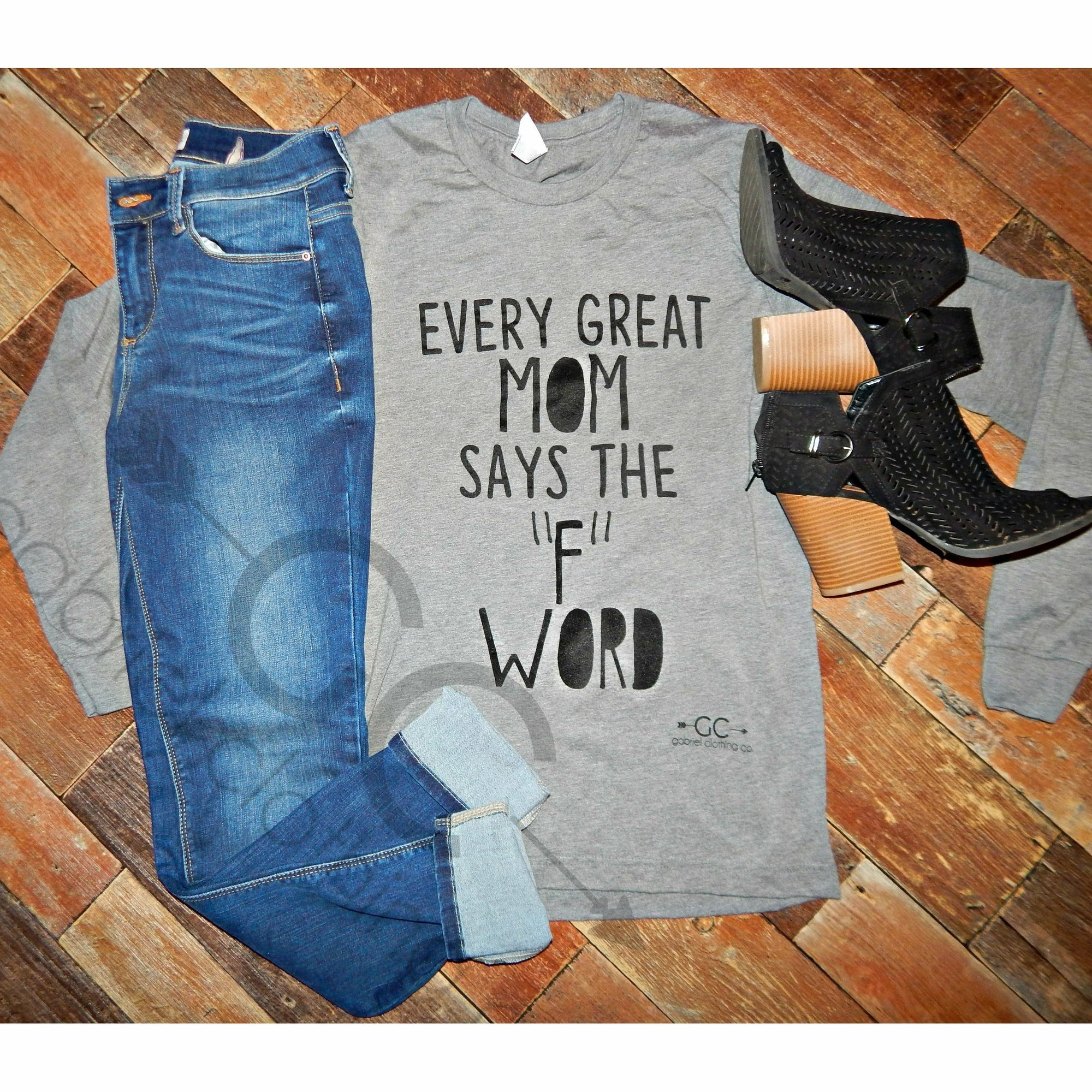 Great Mom Long Sleeve - Gabriel Clothing Company