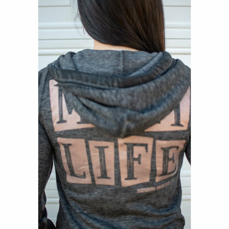 Mom Life Rose Gold ink jacket