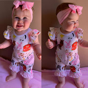 Farm Animal Romper