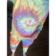 Tie dye eternity long sleeve top