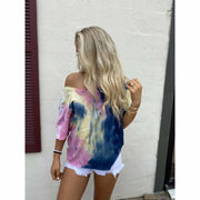 Soft Boatneck Tie Dye boutique