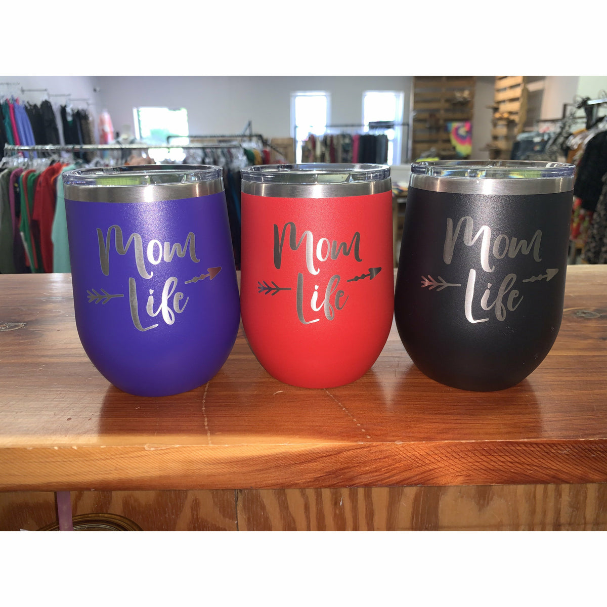 Mom life tumbler ( colors )