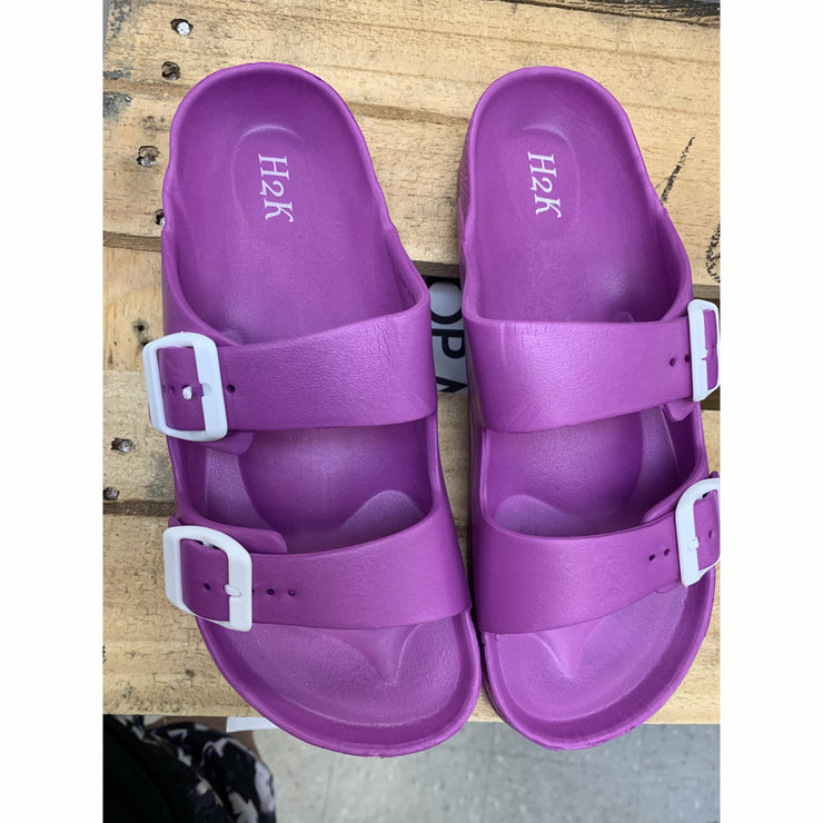 Slip on Lake Sandal (two colors purple or black)