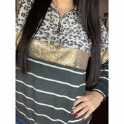 Wild Sequin pull over