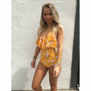 Yellow Daisy Strappy One piece