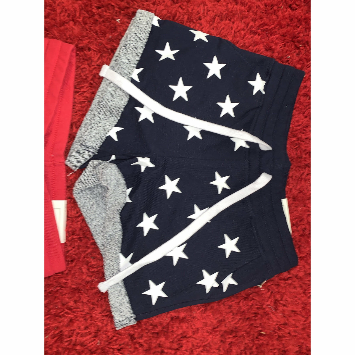 Star Shorts (red or blue)