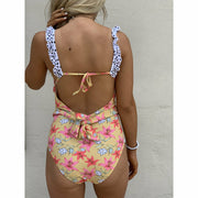 Yellow Daisy One piece swim