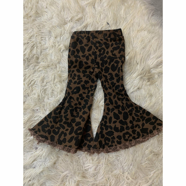 Cheetah Denim Infant/Toddler/Kids bell