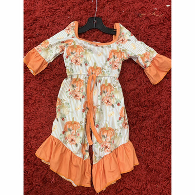 Pumpkin Infant/Kids Romper