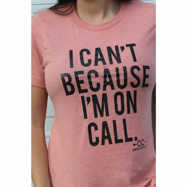 I can't im on call tee