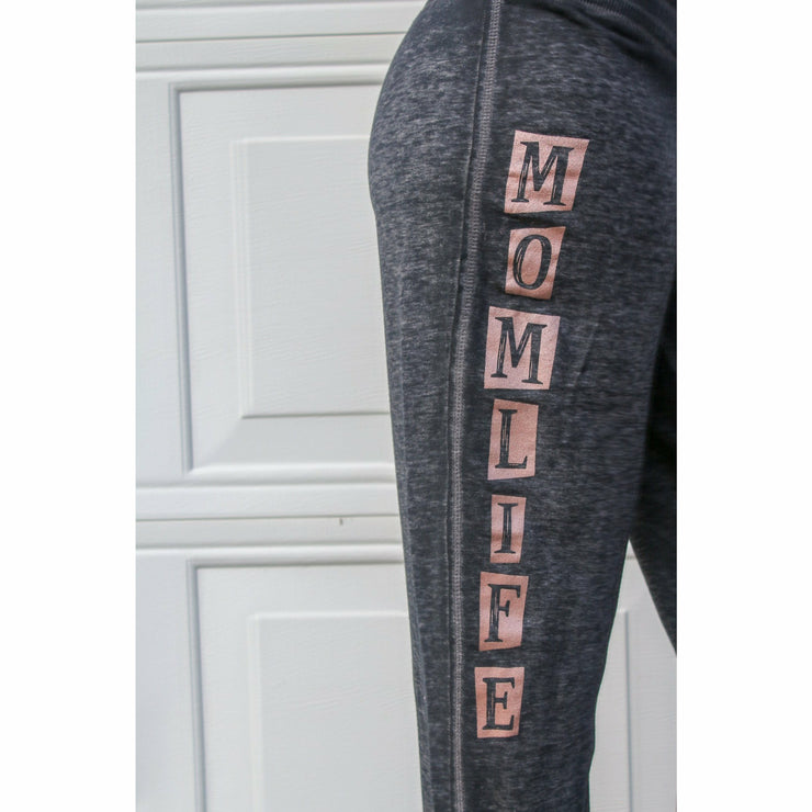 Mom life Rose Gold Pant