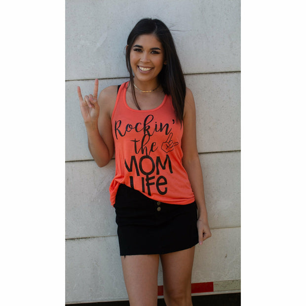 Rockin' the Mom life tank