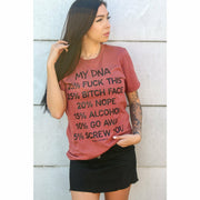 My DNA Bad tee