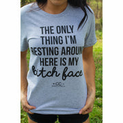 RBF (resting bitch face) tee