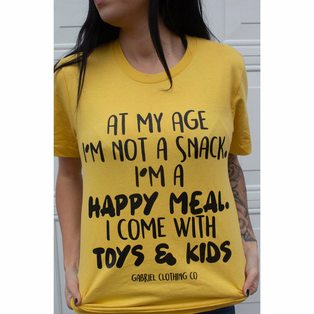 Happy Meal Tee - Gabriel Clothing Company