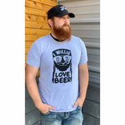 I willie love beer tee