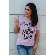 Rockin' the mom life tee