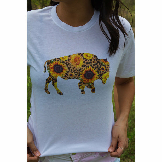 Buffalo Sunflower Tee