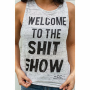 Welcome to the Shit Show Tank Top (more color options)