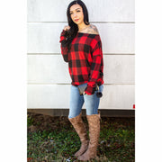 Lumber Jack Daughter Top