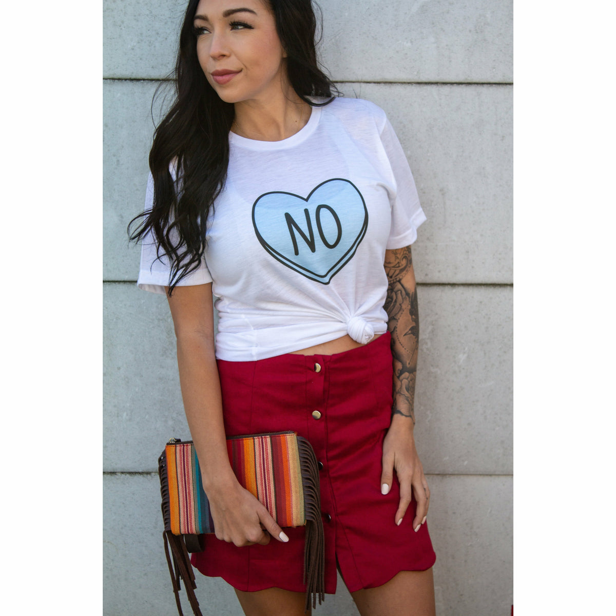 No Candy Heart Tee