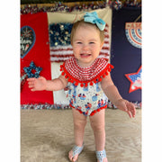 Firecracker Infant Romper