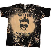 Mama of Mayhem/Mister Mayhem Distressed Tee