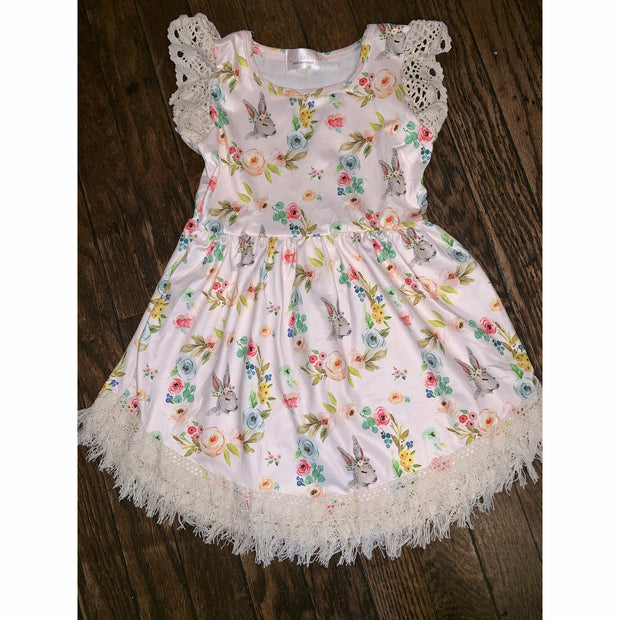 Easter Fringe Dress Toddler