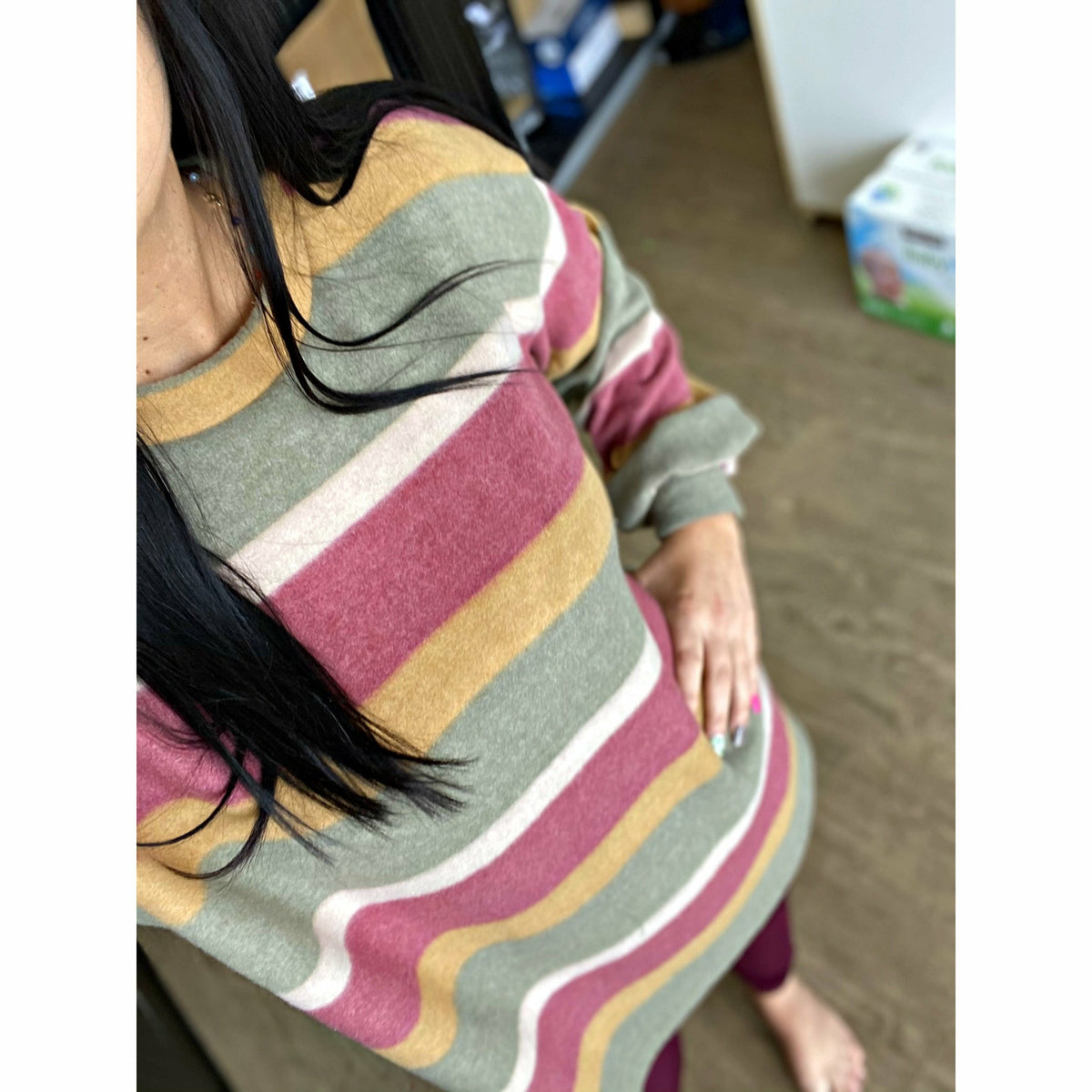 Shanna Stripe Soft Tunic