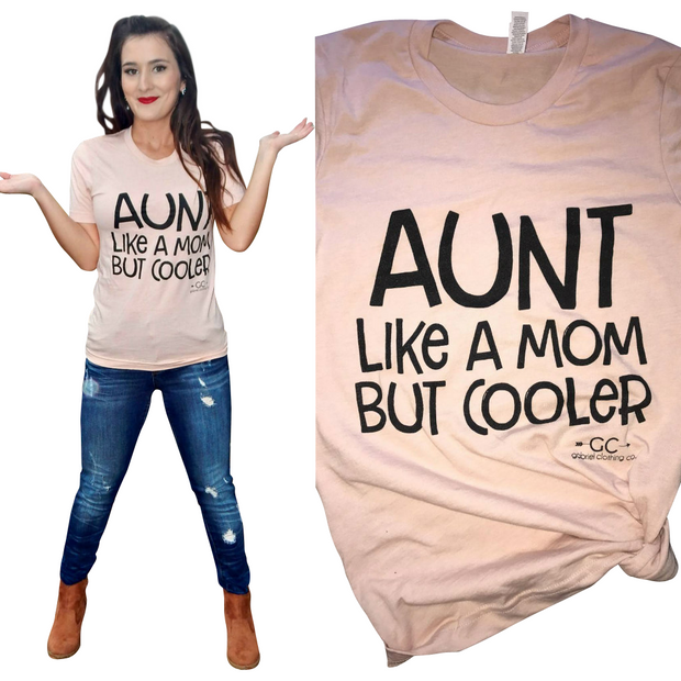 Cool Aunt tee (more colors) - Gabriel Clothing Company