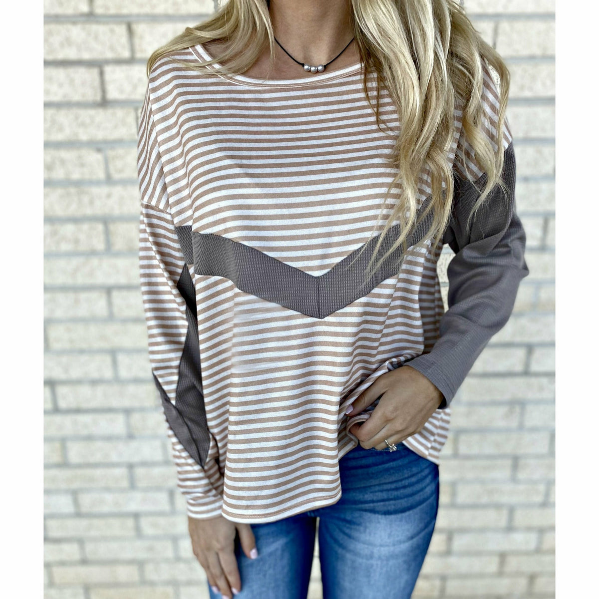 Drex Stripe Top