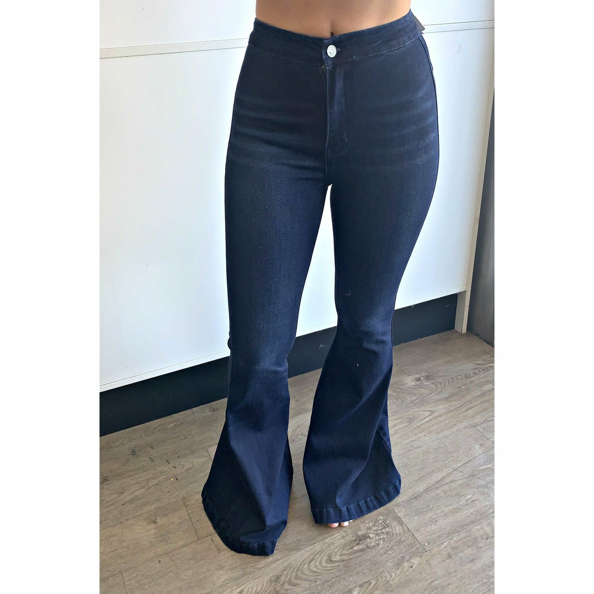 Kancan High Rises Flare Jeans Gabriel Clothing Company