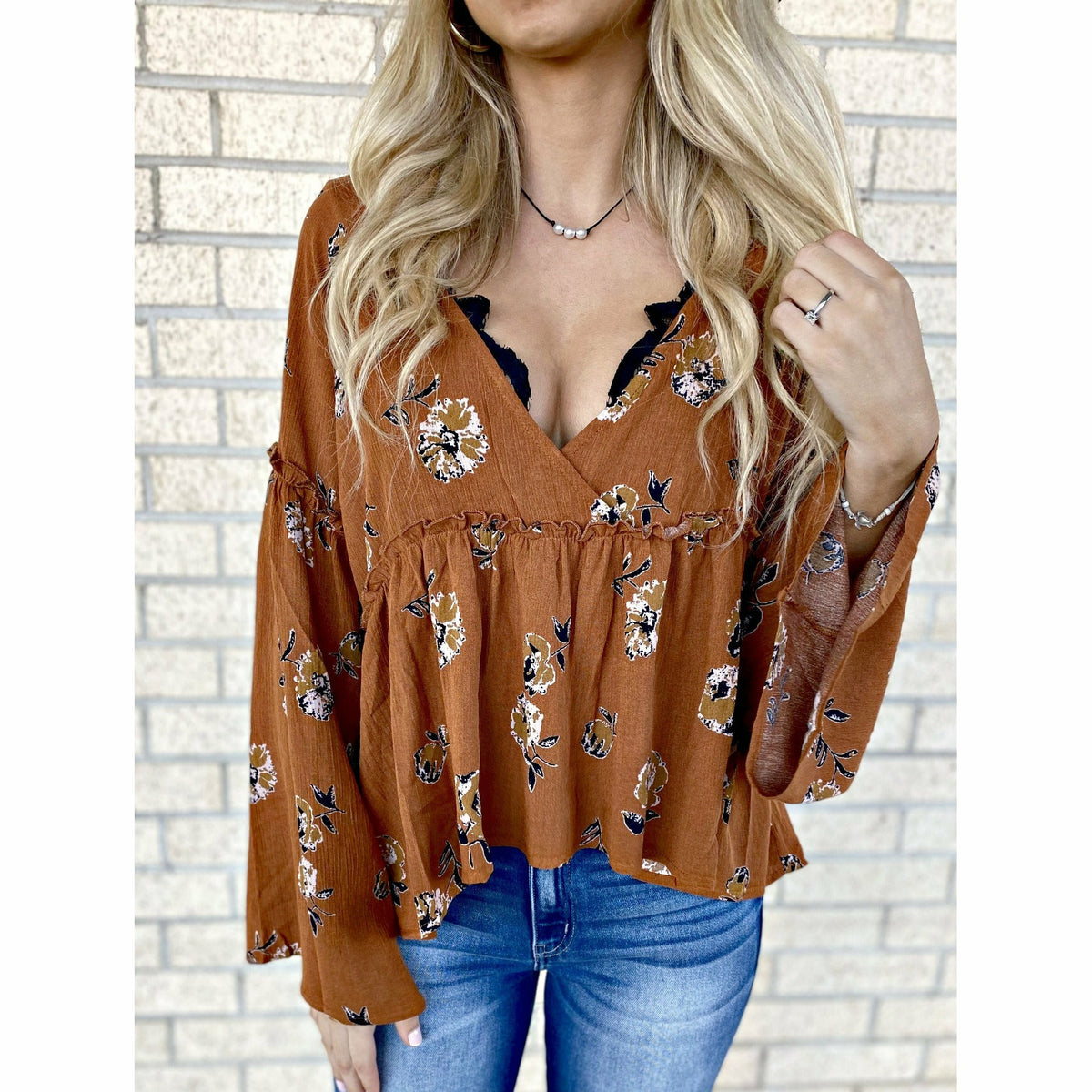 Brittie Boho High-Lo Top